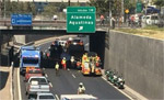 Accidentes en autopistas aumentan un 8,3%